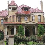 One of many memorable old mansions in the district.