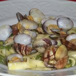  scialatelli vongole e zucchine
