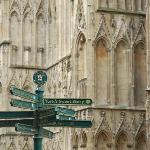 York Minster - 25 mins. walk via the park & city centre.