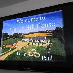 The Hotel's welcome screen