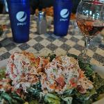 Lobster Caesar Salad at Spankys