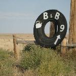 Follow these signs to the B & B