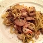 Pasta with Porcini and Shrimp