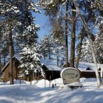  Winter wonders abound, and this year we have cabins open for the snowmobile season!