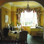  View from lounge into dining room