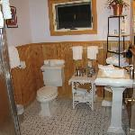 Bathroom in Little Ollie room