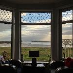 View of the harbour from the bedroom