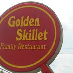 Golden Skillet Sign