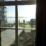 Great views of the sea from most rooms