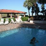 Great pool area alway clean and ready to use