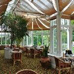 cosy and quiet restaurant in the Conservatory