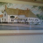 Painting of The Old Inn