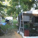  Weekends the campground is very full
