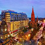 The Westin Melbourne Exterior Night View