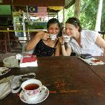China teacups in the jungle?!