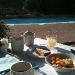  Colazione a bordo piscina
