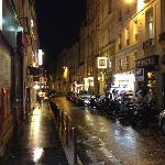 Rue de Seine - Street where hotel is located