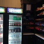 Vending Machines & Snacks In Lobby