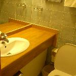  Nice (and small) bathroom, room #615