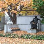 Memorial site of Joseph Pulitzer - the Puliter Prize of journalism is name after him.