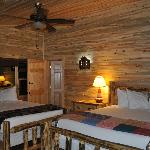  Cabin 104 - little space between beds