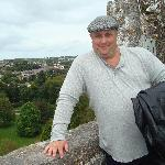  On top of the Blarney Castle