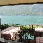  Restaurant terrace overlooking the lake