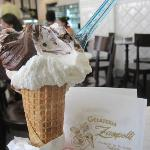 Yum! (But do only gelaterie near Rome offer panna?)