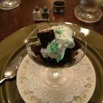 Peppermint Brownie Trifle - Dessert for Breakfast - Yum!