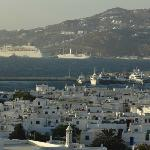 View from the rooms - Mykonos Bay
