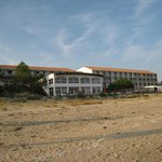  l&#39;hotel vu de la plage