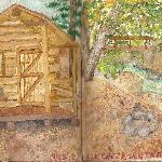  Water color painting of our cabin