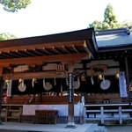 Hiraoka shrine main sanctuary