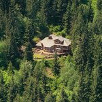 Nestled into 5 very secluded and private acres of forest