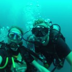 First diving experience with dreamland diver