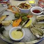 seafood platter - sea snails are delicious