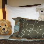 Staff was so exceptional! When they made the beds they also tucked in our daughter's puppies.