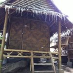  bamboo huts