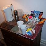 Tea & Coffee facilities in our room