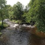 The River Irfon from the Road Bridge