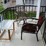 Broken chair in Balcony