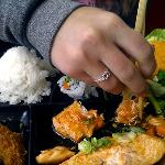 Salmon Teriyaki Lunch Box