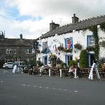 Blue Bell Inn Pub - across the B & B in background