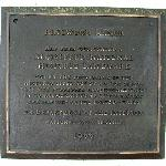  NJ HISTORIC SITES PLAQUE