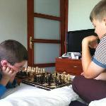  Room (and polish chess sets bought in old town)