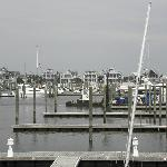 View of Marina from MOJO's deck