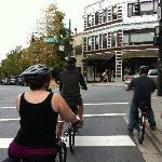 Electric bikes are a must to maneuver up the hilly streets of Asheville