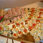  Buffet sugli specchi