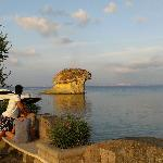 the famous mushroom rock, 50 meters walk from the hotel