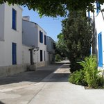  Typical street within the villa complex